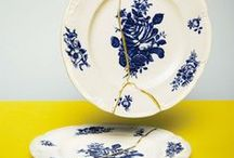 Ceramics & Home Goods / Pretty home goods to inspire graphic design projects.