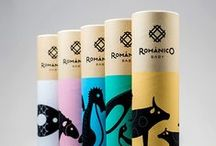 Print & Packaging / Graphic design: product packaging and paper designs.