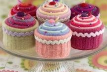 Crochet-Cup cakes