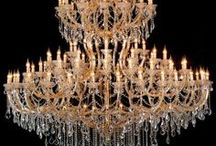 Chandeliers / by Marina