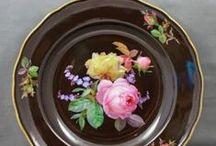 Roses on porcelain and china / by Yelena Berenshteyn