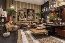 Africa style / safari interior decorating
