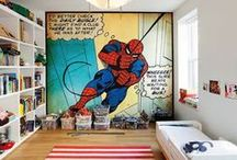 Comics / Comic book, movie, super hero home decor.