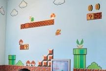 Video Games / Video Game and Gamer home decor.