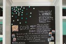 Chalkboard Walls / Chalkboard walls and wall stickers!