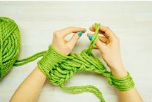 Shiva'Tricote / Tuto pour tricotinner