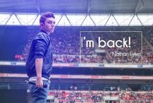 Mrs. Sykes ;-) / Obsessed with Nathan Sykes. ;D / by Caitlin Strutz