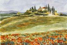 Tuscany by Maga Fabler