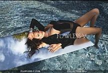 Fashion photoshoot : FLAWLESS-V SS15 Campaign / Up and coming designer brand for Luxury swimwear and resort wear.
