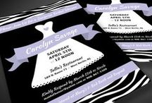 bridal shower invitations / invitations for bridal showers