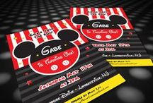 birthday party invitations / birthday parties for kids and children. invitations.