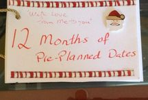12 Dates in 12 Months / Husbands Christmas present 2014