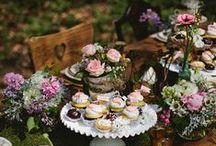 Tea Party Glamour / Tea Party Glamour Wedding Flowers