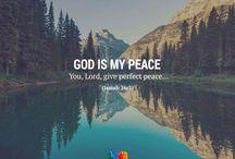 Bible and prayers