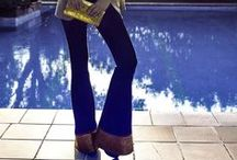 So chic - So Glamour / Outfit di tendenza da non perdere.  #fashion #jeans #bell #campana #tacchi #glamour