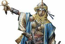 Loracil ibn Fassir al-Sinan / Ideensammlung für meinen narminischen Zauberer (Larp)