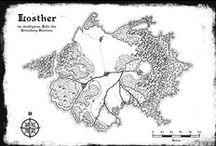 Losther und Ûrgon / Alles mögliche zum Larphintergrund Losther und dem östlich davon liegenden Kontinent.
