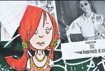 Street-art / Différentes oeuvres de street-art dans le monde.