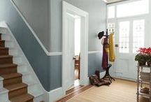 Timber mouldings / A decorative timber moulding added to your room can bring to to life, add character and create interest.
