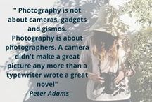Photography Quotes / What inspires you to take great photos? Check out these great photography quotes, and funny graphics to keep you inspired!