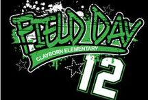 Custom Field Day T-Shirt Designs / Fun designs for the big day! Play hard and look cool doing it!
