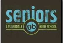 Senior Class Signature T-Shirts / Everyone can get their very own signatures printed on shirts!