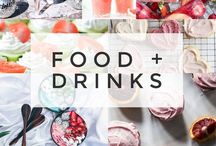 Food + Drinks / Reciepes for foods and drinks!