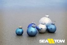 Nautical Holidays / Boat themed holiday decor, what could be better?