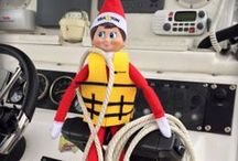 Elf on the Shelf - Sea Tow Style / Sea Tow's holiday friend, Sea-Lo, would like to show you all his daily adventures!