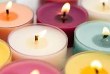 Tealights -Odor Eliminating & Scented / In addition to our odor-eliminating candles, we offer a variety of scented candles. With numerous fragrances and more on the way, you're sure to find the scent you love. Just as with our odor-eliminating candles, our scented candles are made with high quality soy wax.