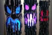 DIY: Halloween y Dia de los Muertos / Ideas para disfraces, decoración de la habitación y de la casa, recetas y mucho más.