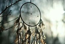 Dream Catcher / fiber art, knotting, weaving, decor, jewelry bijoux ... Tribal, boho, contemporary, fashion, DIY, crafts