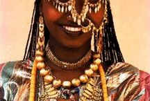 Tribal & ethnic / World Cultures, Tribal & ethnic adornments, jewelry, face painting, body painting, piercing, clothing ... ritual, shamanic, ethnographic, anthropologic ... inspiration
