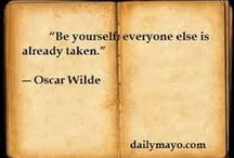 Author quotes / Be inspired by these quotes, be you, write for you