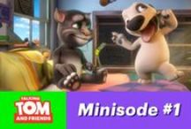 Talking Tom and Friends - Minisodes ♥ / Talking Tom and Friends are coming to a screen near you!  #TalkingFriends