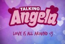 Talking Angela - Loves ♥ / I really like cute things. With hearts. Cute hearts. ♥
