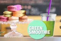 Talking Angela - Healthy Food ♥ / Go green! Make smoothies! Enjoy!