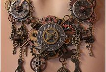Steampunk / Products we sell as well as inspired artwork, costumes, etc.