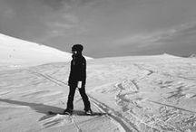 vinter och skidor