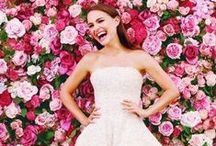 Wedding Photobooth / Flower wall at the reception.