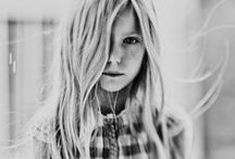 Black and white portrait photography / beautiful woman girl black and white b&w popular bokeh tint face freckles hair aero-ektar photography portrait