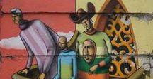 Street Art Around The World / Showing street art from around the world.