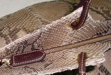 Exotic Leathers - Bags and accessories / Elegant and exotic, these designs suits all occasions.