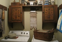 ★ Laundry is Loads of Fun ★ / Primitive laundry rooms / by ★ Sandi VanCulin ★