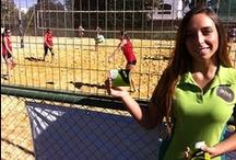 Liga Volley Playa / Desde abril que estamos presentes en la Liga de Volley Playa en el Estadio Croata, apoyando a todas las entusiastas deportistas que nos contagian con su alegría.