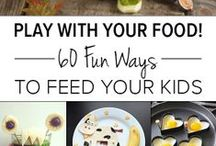 Meal time maddness / Tips, ideas & advice for feeding your little tot.