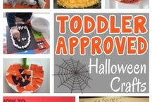 Halloween Craft Ideas / Include your kiddies in crafts to decorate the house for Halloween or use some of these ideas for a Halloween party or Birthday party.