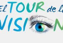 El Tour de la Visión / BOIRON y Euphralia® ya están de viaje por España. Conoce las distintas escalas por las que ha pasado El Tour de la Visión y !Siente el efecto Euphralia®¡