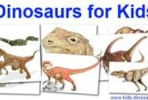 Dinosaurs / Everything dinosaur. My youngest daughter is slightly obsessed.