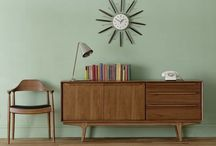 living danish modern / danish modern midcentury anni 50 mobili danesi scandinavia vintage